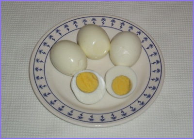 ketogenic diet - boiled eggs