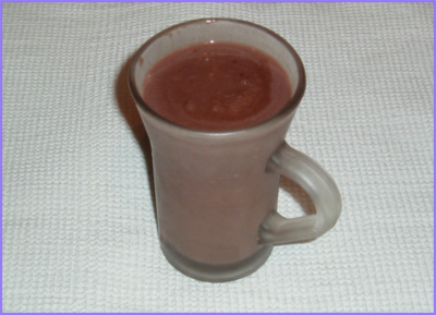 ketogenic diet - hot chocolate