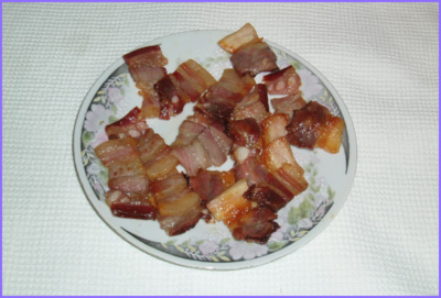 ketogenic diet - roasted bacon